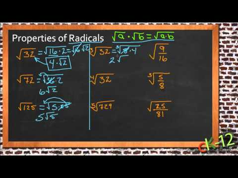 Properties of Radicals: A Sample Application