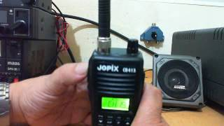 Tutorial Jopix CB413, walkie talkie, by 30LS001 & SD Radio.