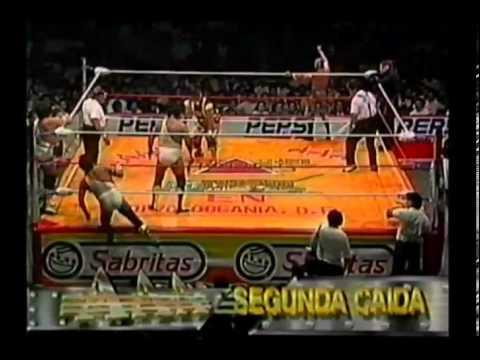 Luchadores Los Destructores vs Los Destructores C.n