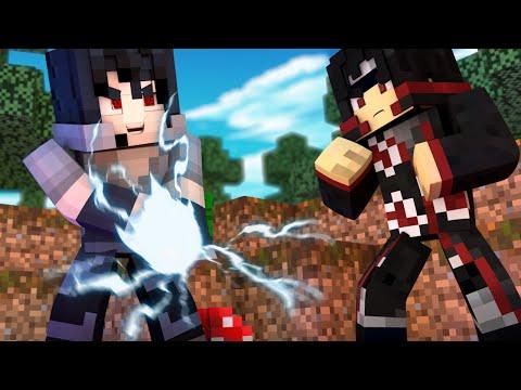 Minecraft: Batalha (Naruto) - Sasuke Vs Itachi #06