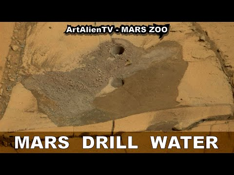 MARS DRILL WATER: Curiosity Rover Hits Water: NASA Stays Silent. ArtAlienTV - MARS ZOO 1080p