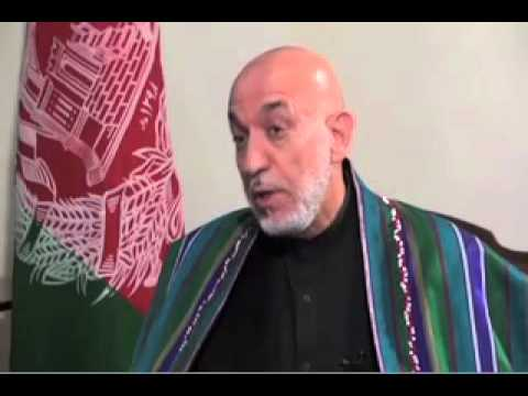 Hamid Karzai speaks exclusively to Voice of America VOA Ashna