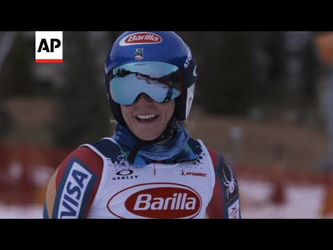Shiffrin Works to Stay on Top for the Olympics