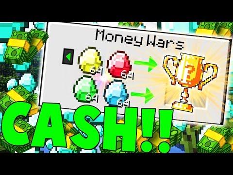 69 DIAMONDS = WIN?! | Minecraft: Money Wars 1.9 SOLO #19 - EASY CASH!!