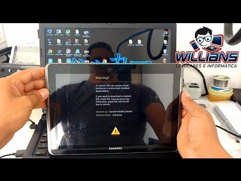 Firmware StockRom Samsung Galaxy Tab2 GT-P5100. P5110. Instalar. Atualizar. Restaurar