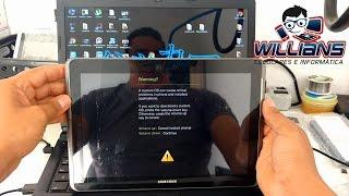 Como aplicar o hard reset de fábrica no Samsung Galaxy Tab2 GT-P5100, P5110 formatar resetar