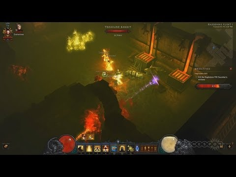 Treasure Goblin Packs in Nephalim Rifts - Diablo 3: Reaper of Souls Closed Beta