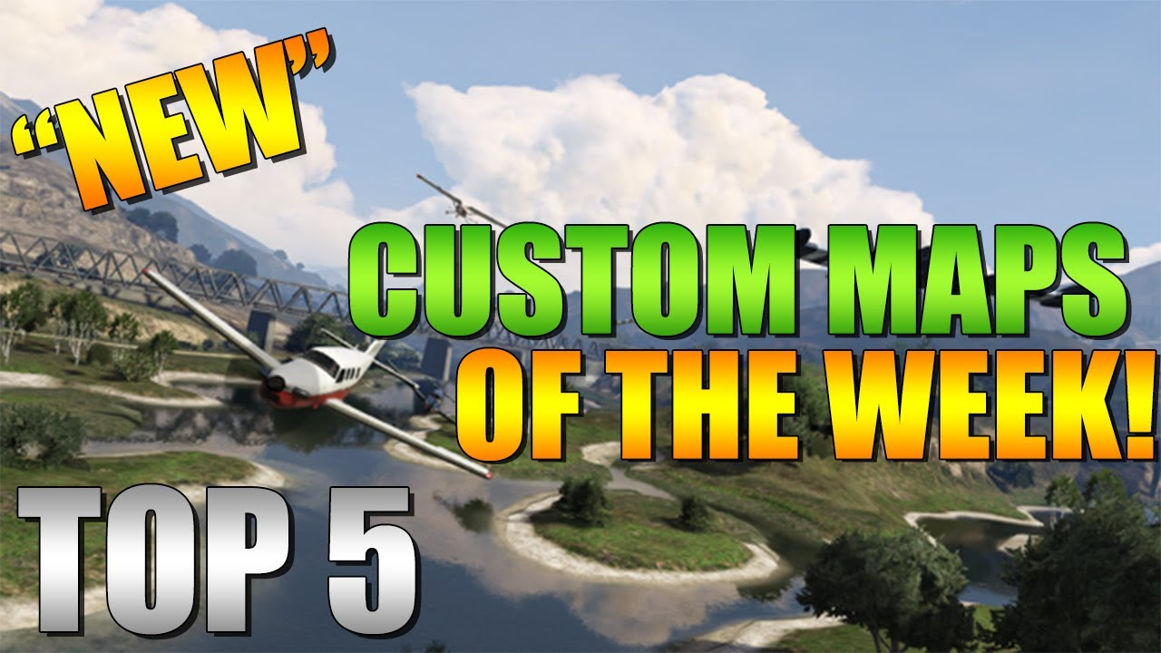 how to get costem maps on gta 5