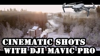 MAVIC PRO - EPIC WINTER FOOTAGE IN 4K!
