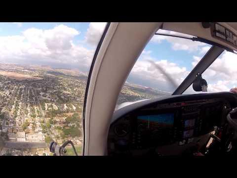 Private Pilot Training - Checkride Prep Flight (KSNA-KRAL-L67-KSNA)