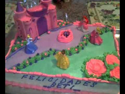 Pasteles de las princesas Disney - Imagui