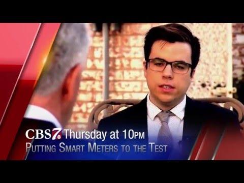 CBS 7 News at Ten - Smart Meters Examined