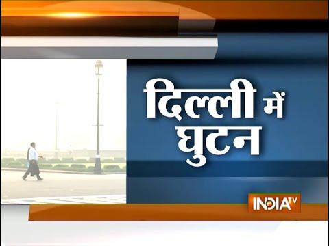 Farmers Burn Paddy Straw in Punjab, Leads to Smog in Delhi