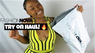 FASHION NOVA FOR THE LOW! 💰 | $20 & UNDER! | Try On Haul