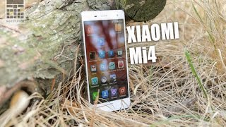 Xiaomi Mi4 - обзор смартфона с Full HD экраном, 13 МП камерой, 4-х ядерным процессором и 3 Гб ОЗУ