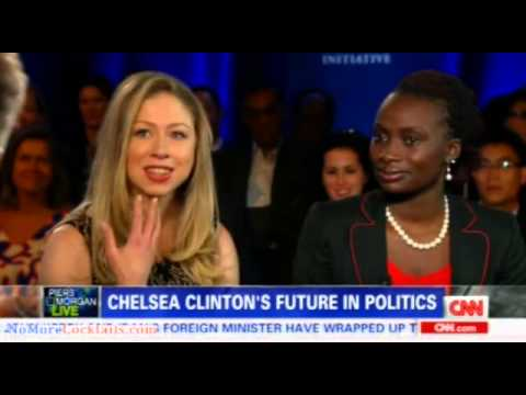 Piers Morgan desperately wants Chelsea Clinton to run for President