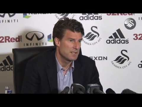 Swansea City Video: Michael Laudrup press conference pre Fulham