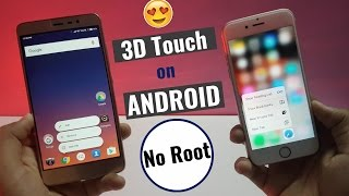 (3D Touch) Android 7.1 App Shortcuts Feature on Any Android Device - No Root