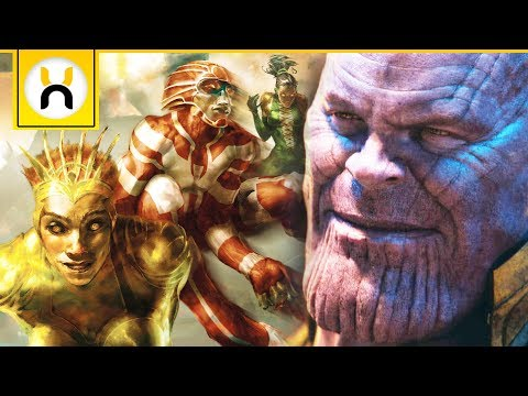 Avengers 4 to Introduce MAJOR Eternals Character?