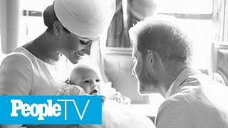 Meghan Markle Shares Never-Before-Seen Archie Photo In Birthday Message To Prince Harry | PeopleTV