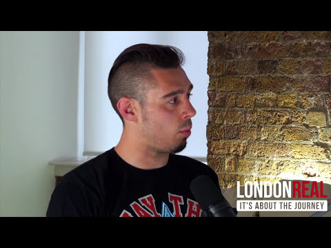 UFC Fighter Dan Hardy on Psilocybin, Ayahuasca and Marijuana | London Real