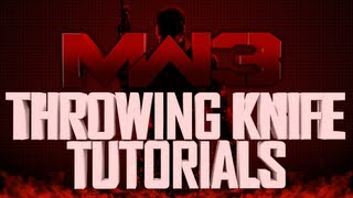 MW3 Terminal Throwing Knife Bankshot Tutorial