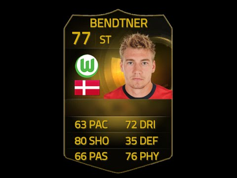 Fifa 15 if bendtner 77 player review amp in game stats ultimate team