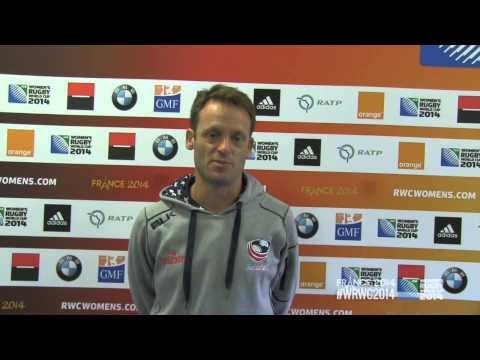 WRWC 2014 - USA Women's Eagles vs Australia: Post-Match Comments
