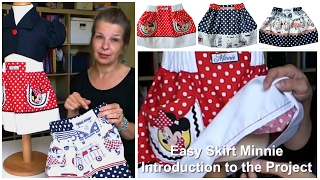 How to sew a skirt - Introduction to the Project  (Easy Summer Skirt)