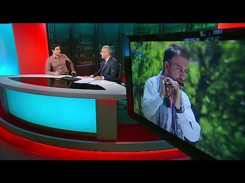 BBC Interview with Zeek Afridi - زیک افریدي سره مرکه