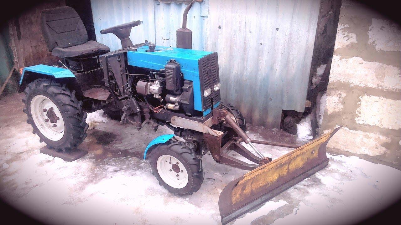 Сделать полноприводный трактор своими руками 64