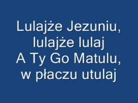 Lulajże Jezuniu - Moja Wersja - Instrumental + Tekst