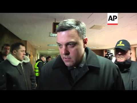 Protest over EU's 'silence'  on Ukraine; Klitschko urges govt to compromise