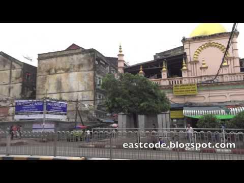 Chulia Muslim Dargah Mosque Yangon