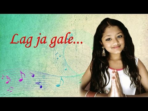 "NEPALI GIRL SINGING.  Lag ja gale ""classic Hindi song"