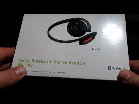 Analizamos los Auriculares Nokia Bluetooth Stereo BH 503