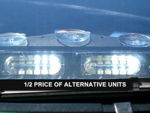 Axixtech Lightning X Xtreme Micromax II Dual LED dash deck light lights Lightbar
