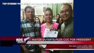 105.9 BALITA FM Top Stories (November 22-28, 2015)