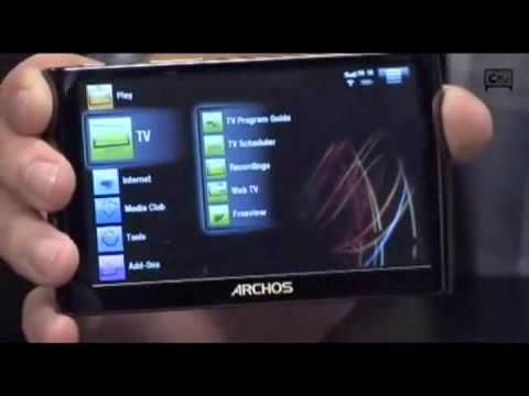 Archos 5 Internet Tablet here with Android OS
