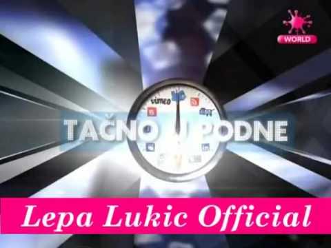 Lepa Lukic & Stanija Dobrojevic - Tacno U Podne - 20.02.2013 Pink World video