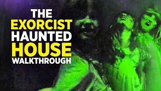 The Exorcist haunted house walkthrough at Halloween Horror Nights 2016, Universal Orlando