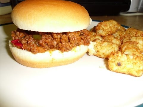 Homemade Sloppy Joes (easy) video