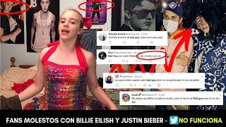 "MOLESTIA POR ""BAD GUY REMIX"" DE BILLIE EILISH Y JUSTIN BIEBER MIENTRAS TWITTER NO FUNCIONA"