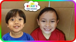 I MAILED MYSELF to Ryan ToysReview and it WORKED! (Skit) - SuperBaby Colors