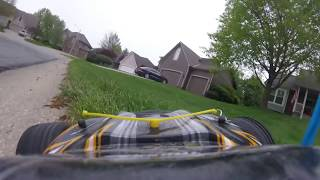 GoPRo View of RC car | PT1