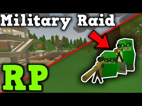 Military Raid RP - Take them out at all costs... - Unturned 3.0 thumbnail