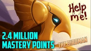 Silver Azir 2,400,000 Mastery Points- Spectate Highest Mastery Points on Azir