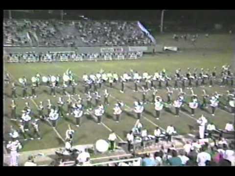 1990 Berkner Ram Band Halftime Show