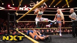 Liv Morgan & Aliyah vs. Peyton Royce & Billie Kay: WWE NXT, April 19, 2017