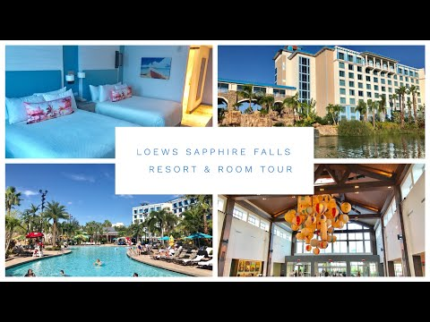 Loews Sapphire Falls - Hotel Resort And Room Tour - Standard Room